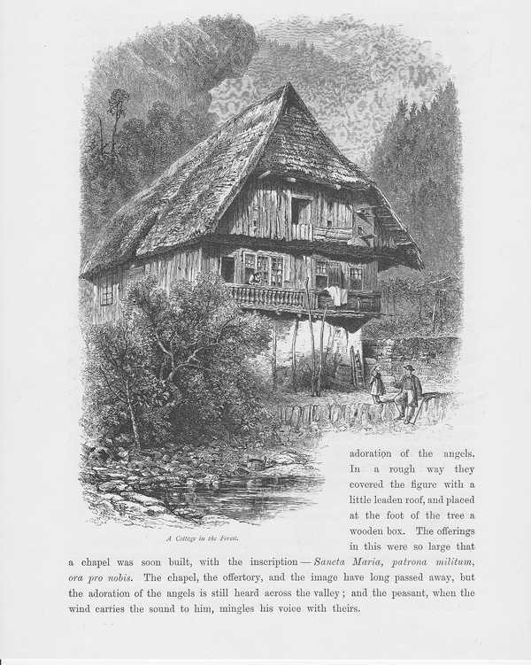 schwarzwaldhaus schwarzwald holzstich um 1880 baden w rttemberg ebay. Black Bedroom Furniture Sets. Home Design Ideas