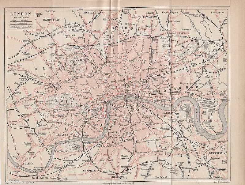 london city westminster chelsea stadtplan von 1878. Black Bedroom Furniture Sets. Home Design Ideas